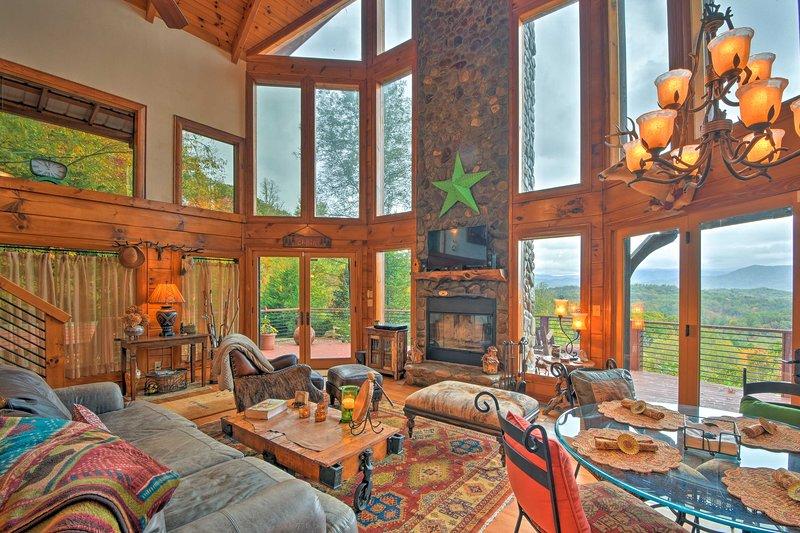 Secluded Nantahala Forest Refuge w/ Mountain Views, casa vacanza a Fontana Dam