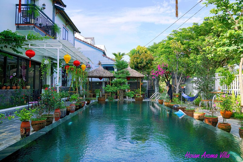 Hoian Aroma Villa - Garden 1 Room - Romatic Double room with pool view, alquiler vacacional en Hoi An