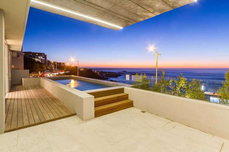 Enjoy sunsets from your private balcony