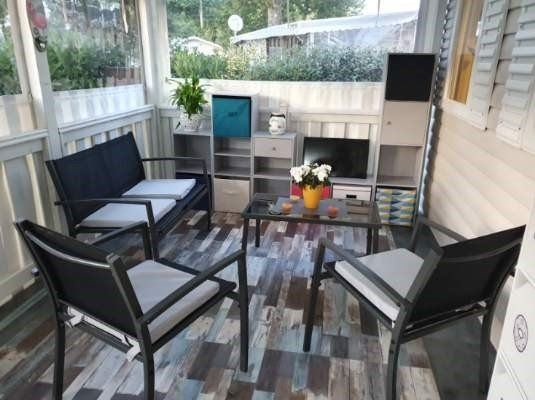 Mobile-home Exécutif 3 chambres, holiday rental in Gastes