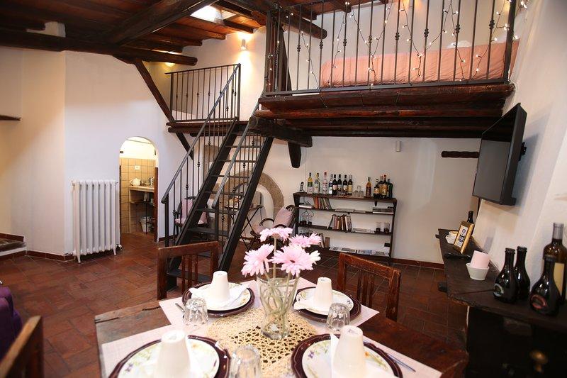 Villa Gusto e Benessere FIRST Floor, casa vacanza a Riano