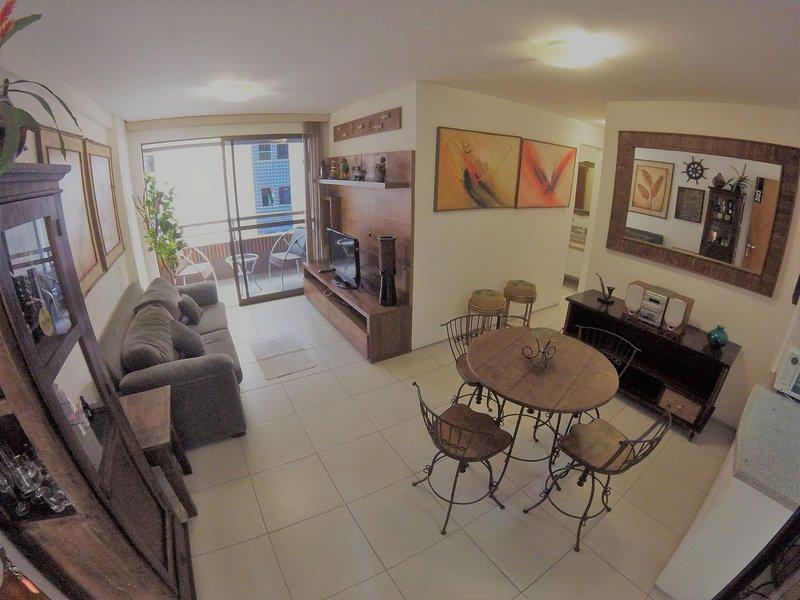 Apartamento 3 quartos praia de Iracema terra Solis 203, alquiler de vacaciones en Fortaleza