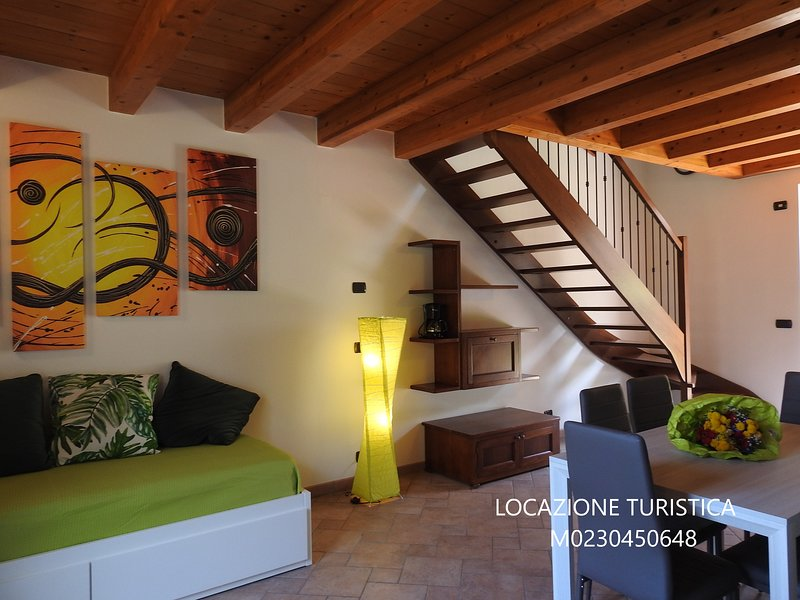 APPARTAMENTI TASEL  VENTO MAISONETTE, holiday rental in Polsa