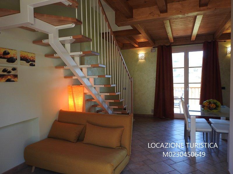 APPARTAMENTI TASEL  ROCCIA MAISONETTE, holiday rental in Polsa