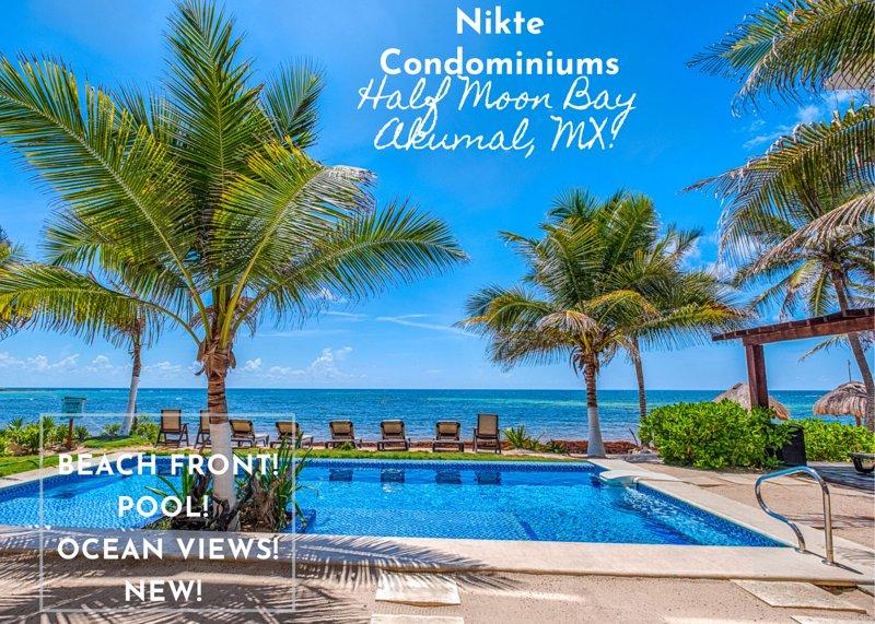 Spectacular panoramic views at Nikte 6. Your vacation paradise awaits you!