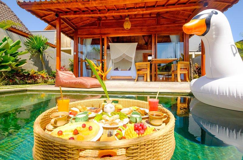 Canggu Villa 1BR Private Pool Basudewa, casa vacanza a Buwit