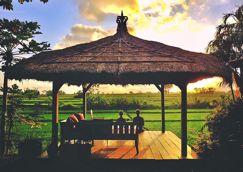 Big Love: Private retreat for for groups and individual voyagers outside Ubud, holiday rental in Singakerta