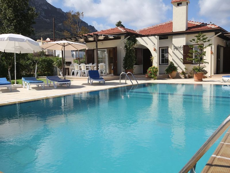 Villa Tanyelli 3 bedroom villa with private pool, holiday rental in Kormakitis