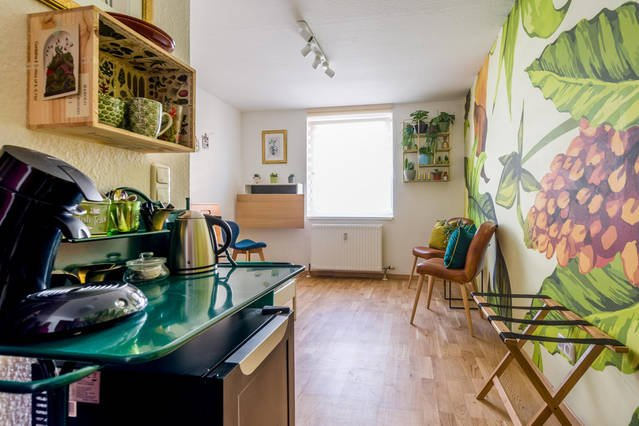 Urban Jungle Designer Apartment - brand new bathroom!, vacation rental in Mannheim