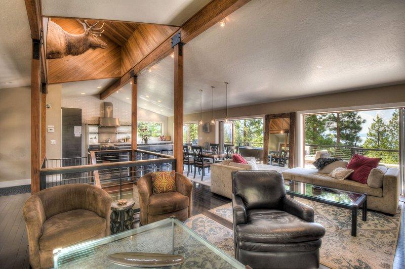 Muebles, interior, sala de estar, sala, silla