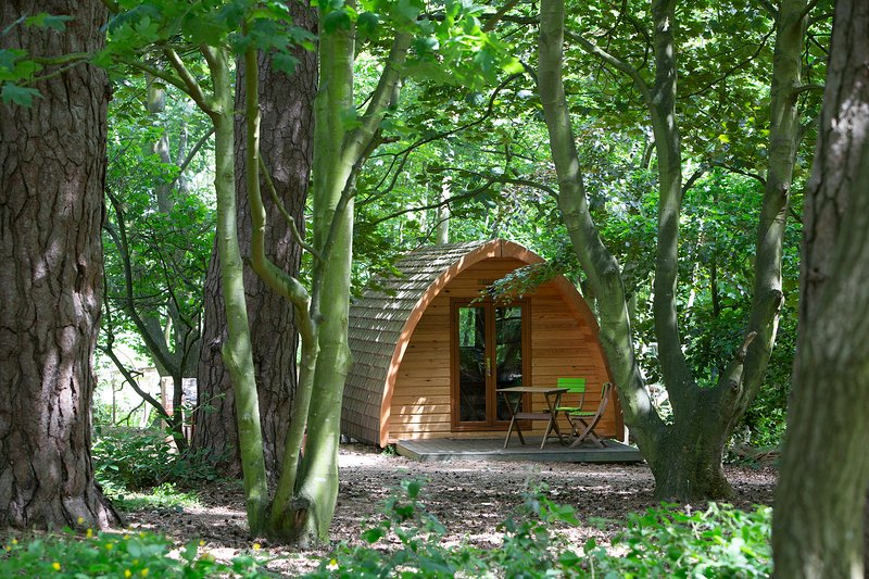 Wulfrun MegaPod at West Stow Pods, location de vacances à Bury St. Edmunds