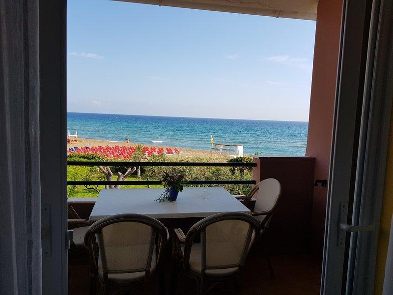 Corfu Glyfada Beachfront 58a, holiday rental in Glyfada