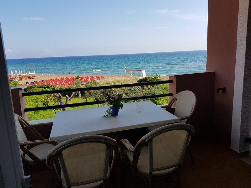 Corfu Glyfada Beachfront A3G 58A, casa vacanza a Glyfada