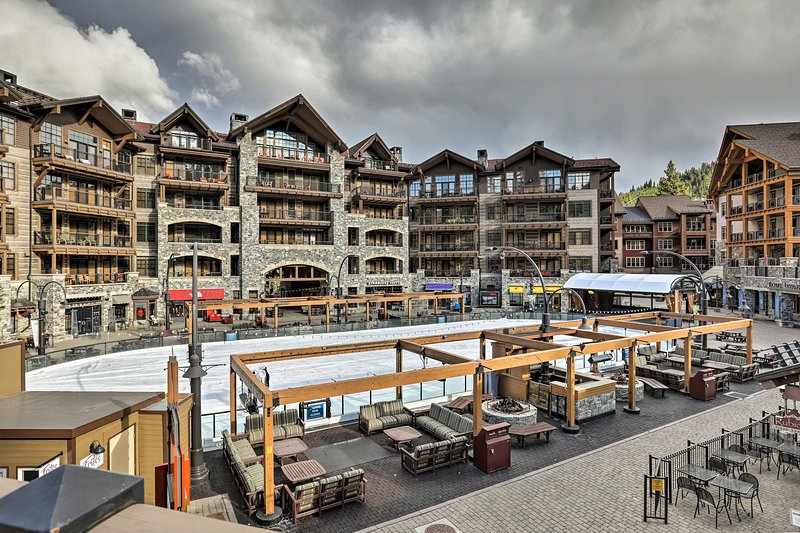Northstar Resort offers downhill slopes, ice skating rinks & apres-ski fun!