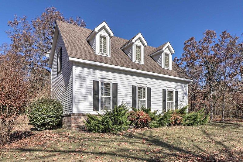 Richiedi questo affascinante cottage come il tuo soggiorno Hot Springs!