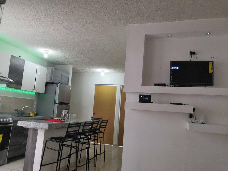 Cozy apartment in the city of Morelia, location de vacances à Tzintzuntzan