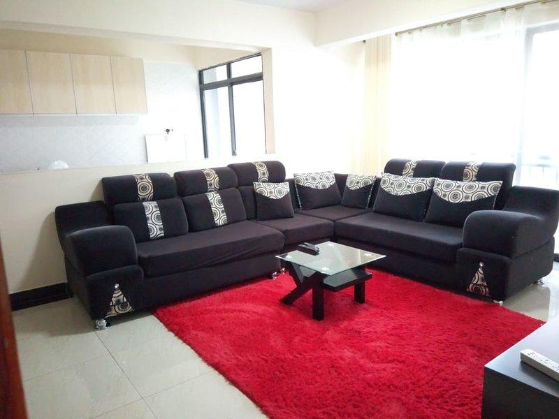 Elegant two bed rooms apartment with quality living at Kileleshwa Gatundu road., alquiler de vacaciones en Lavington