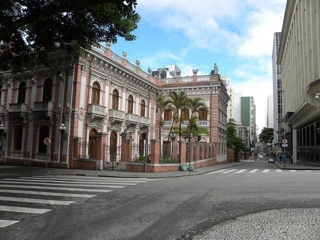 Santa Catarina Historical Museum, known as Cruz e Souza Palace, in the historic center. It is very close!