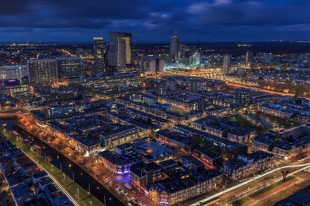 Amazing views from The Hague Tower