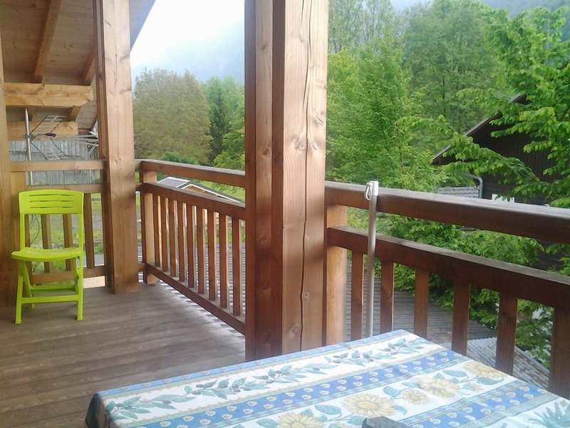 Apartment with mountain view, alquiler vacacional en Sixt-Fer-a-Cheval