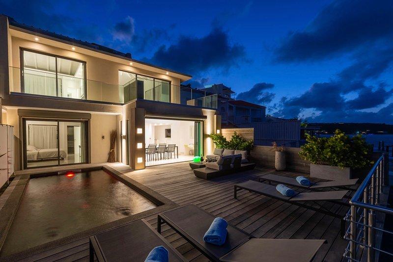 Villa Blue Dream, location de vacances à Cupecoy Bay