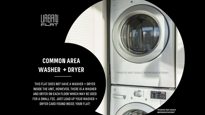 Washer + Dryer in Common Areas