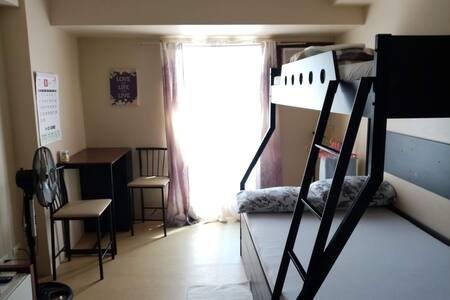 Centrio Tower - Studio Type Room Barkada Room, alquiler vacacional en Cagayan de Oro
