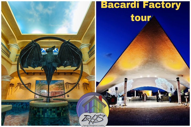 This Bacardi rum production facility is one of the largest premium rum distillery in the world