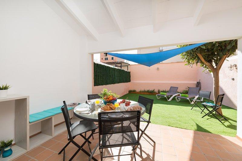 CA NA ROSA (ES PORTITXOL) - Chalet for 6 people in Es Portitxol, alquiler de vacaciones en Playa de Palma