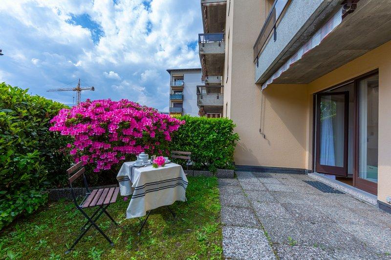 Castagnola Giardino, holiday rental in Gandria