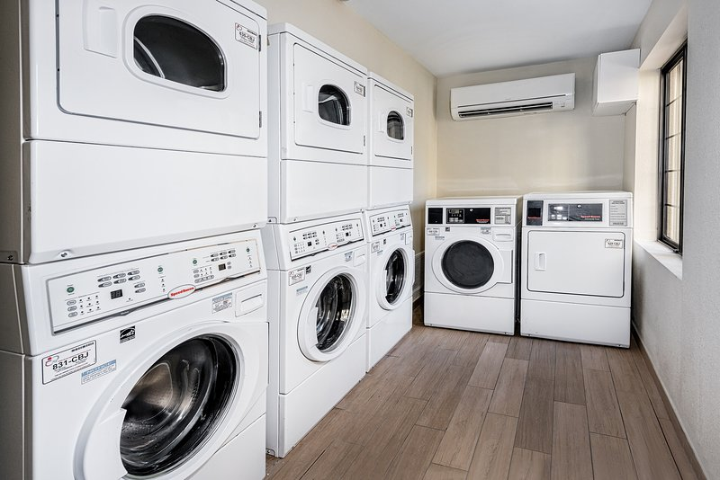 On-site laundry facilities will make your stay hassle-free.