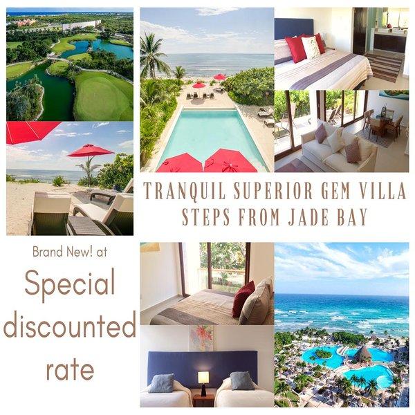 Tranquil Superior Gem Villa steps from Jade Bay, vacation rental in Chacalal
