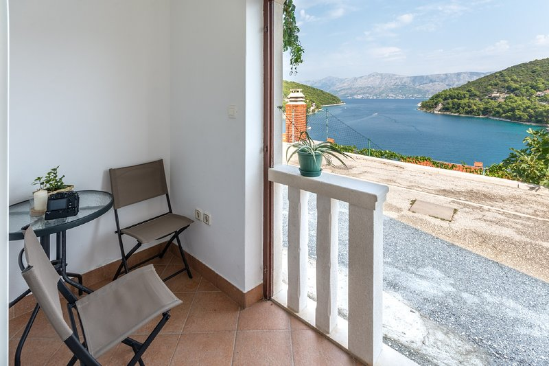 Apartments Darija - Studio Apartment with Sea View, holiday rental in Pucisce