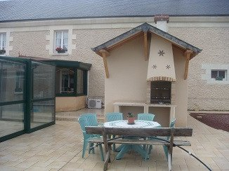 Amazing house with shared pool, holiday rental in La Chaussee