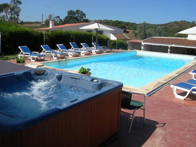Amazing villa with swimming-pool, casa vacanza a Vila Nova de Santo Andre