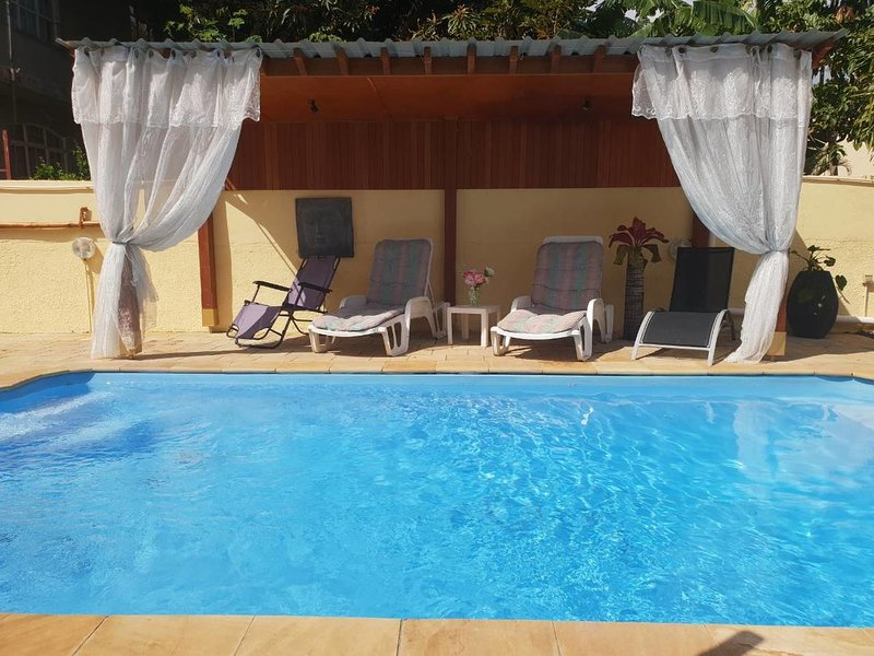 Beautiful villa with swimming-pool, holiday rental in Pamplemousses