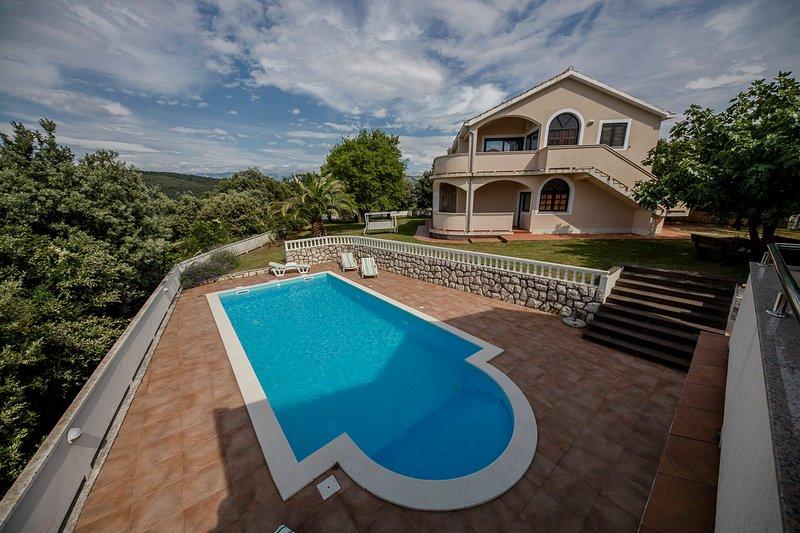 Casa de férias com piscina