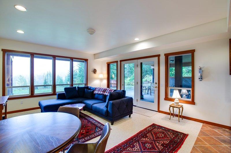Habitación, sala de estar, interior, sofá, muebles