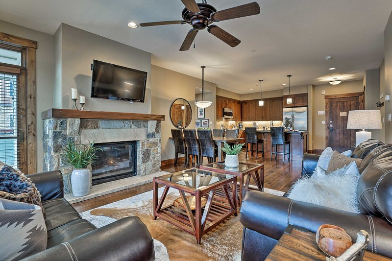 NEW! Slopeside Oasis Mins from Breckenridge Lifts!, holiday rental in Breckenridge