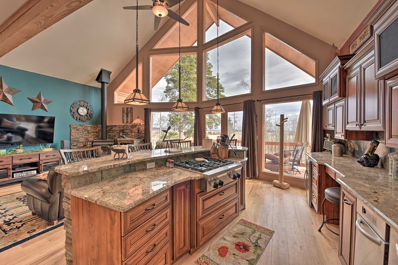This vacation rental cabin has everything you need.