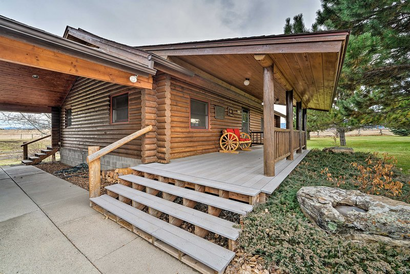 Secluded Retreat w/ Wood Stove, 11 Mi to Bozeman!, holiday rental in Four Corners