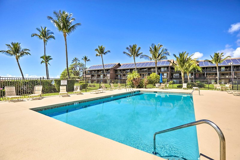 Two guests can experience the abundance of Molokai Shores amenities.
