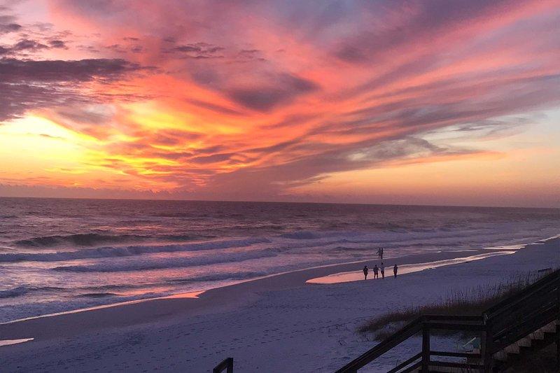 ¡Las puestas de sol de la Costa del Golfo son realmente increíbles!
