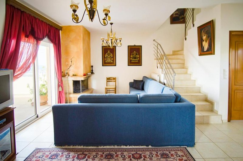 Villa Fotini, holiday rental in Kampani