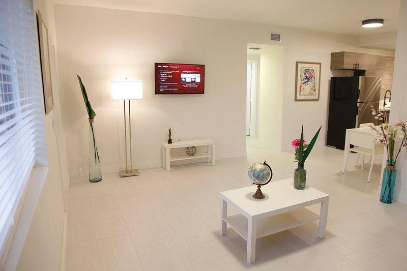Miami Designer Apartment in the Upper East-Side #2  Change listing, alquiler vacacional en Miami Shores