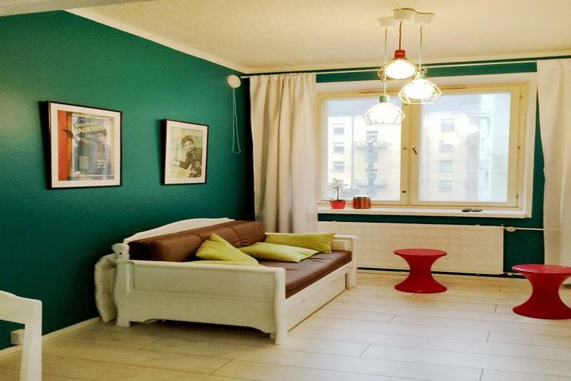 Colorful WeHost at Brahe Park, holiday rental in Vierumaki