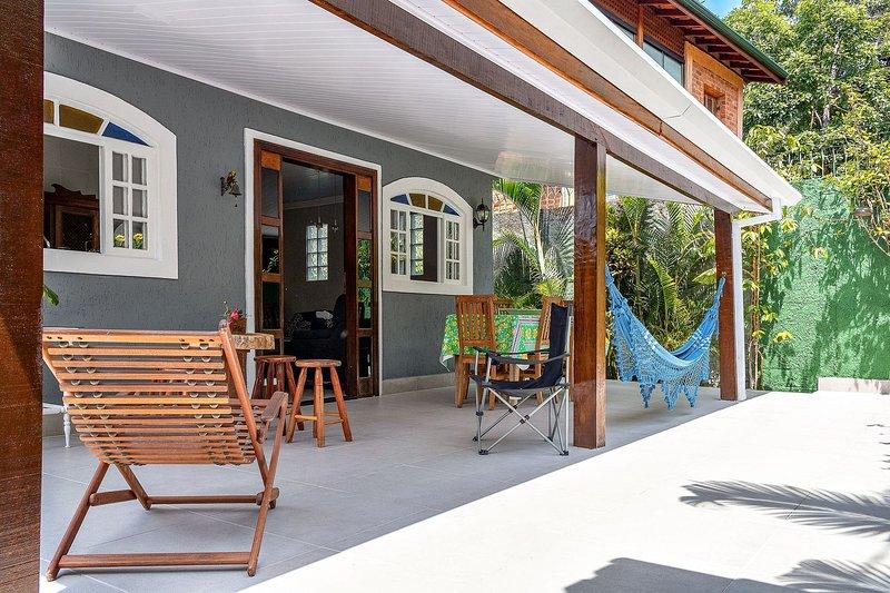 Casa arborizada no Perequê, holiday rental in Ilhabela