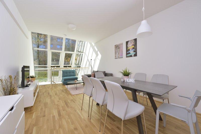 New Large Duplex Innsbruck City Loft, Garden View, location de vacances à Innsbruck