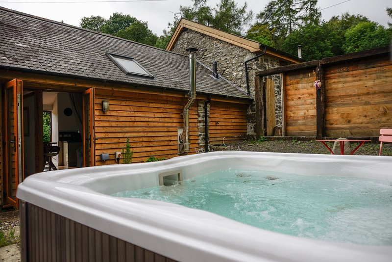 Y Stabl, Romantic Retreat in Mid Wales, vakantiewoning in Llanbrynmair