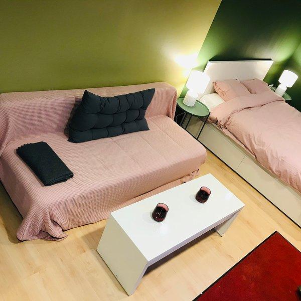 Cama y sofá cama